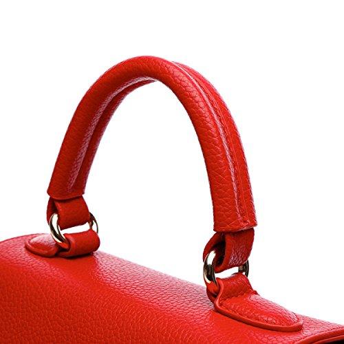 Sacchetto Di Spalla Della Borsa Del Sacchetto Del Messaggero Di Modo Delle Signore Red