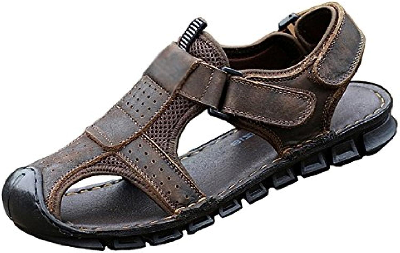 NIUWJ Hombre Comodidad Casual Zapatillas Ocio Juventud Al Aire Libre Playa Moda Sandalias