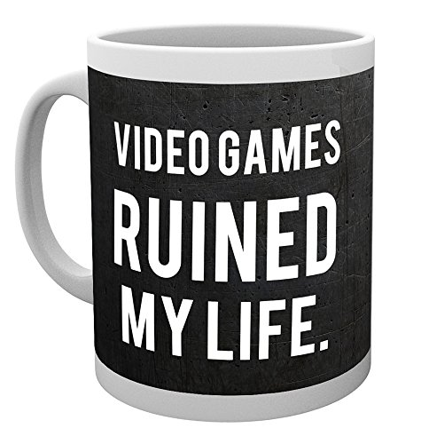GB Eye, Gaming, Ruined My Life, Taza