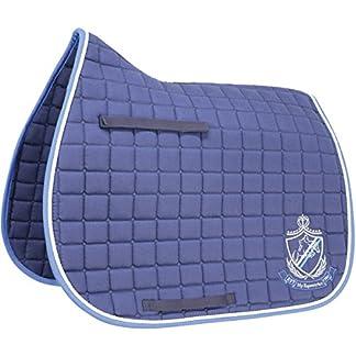HySPEED Hy Saddle Cloth Navy/Brilliant Blue Cob/Full Horse Numnahs 14