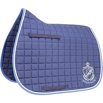 HySPEED Hy Saddle Cloth Navy/Brilliant Blue Cob/Full Horse Numnahs 1