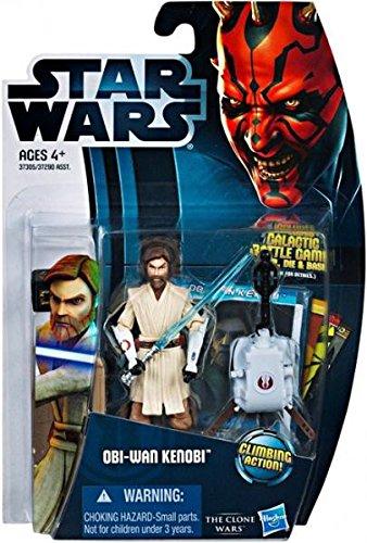 Jedi Master Obi-Wan Kenobi mit Seilwinde CW12 Star Wars The Clone Wars von ()