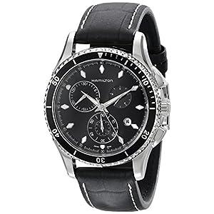 Hamilton Reloj Cronógrafo para Hombre de Cuarzo con Correa en Cuero H37512731