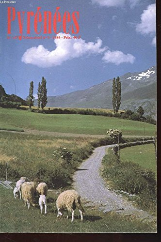 Pyrenees - revue trimestrielle n° 147 - n° 3 de 1986 - dans les pas des cadiers - saint-beat - trois cents millions d'annees sous les pas d'un montagnard - maurice gourdon - bourse aux livre par COLLECTIF
