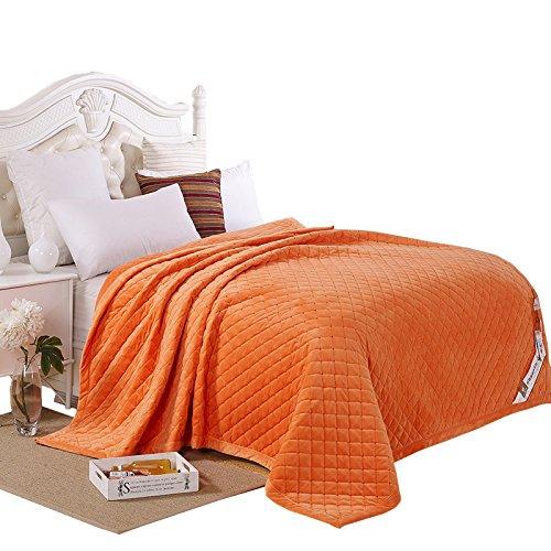 BDUK Coral dicke Decke im Winter warm Short-Pile Faller fusselfreien Bettwäsche Handtücher sind mit Flansch Daunendecke