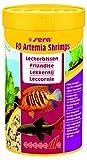 sera 01550 FD Artemia Shrimps  250 ml - Leckerbissen für die prächtige Farbausprägung, durch ein besonders sehr aufweniges Herstellungsverfahren frei von Parasiten & Krankheitserregern