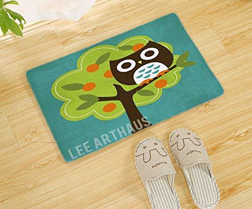 WENZIMENG Lila Dicke Koralle Vlies Speicher Baumwolle Teppich Matte Bad Anti-Rutsch-Matte Fußmatte Fußmatte (Bambus über Wc Speicher)