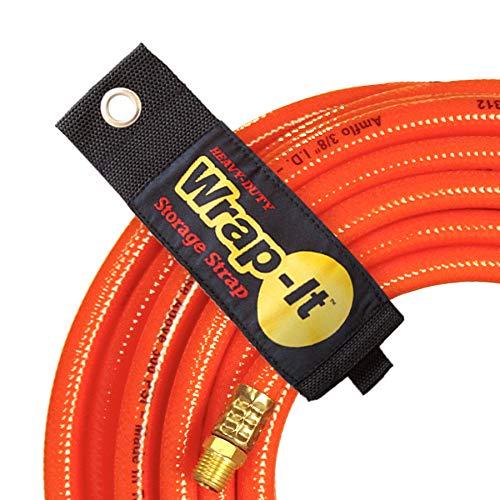 wrap-it Aufbewahrung Träger Haken und Loop Organizer für Verlängerungskabel Schläuche Seil Kabel Lichter für Home Garage Shop Truck RV Boot, 6 Pack(2M/2L/2XL) (Schlauch Für Rv)