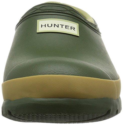 Hunter Field Ladies Gardener Clog Vintage Green
