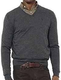 Polo Ralph Lauren - Pull - Homme gris gris