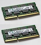 Samsung 8GB Dual Channel Kit (2x 4GB, 204 pin, DDR3-1066, PC3-8500, SO-DIMM)