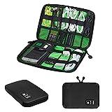 Docooler Universaltasche Reisetasche Elektronikzubehör Organisator Tasche für Elektronische Kleingeräte( USB Kabel / Kopfhörer / Power Banks / Festplatte / Kopfhörer)