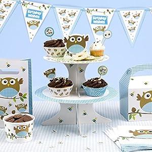 Neviti 672632 Little Owl - Soporte para tartas