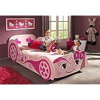 Inspiration Beds Artisan 3FT Single (90xm x 190cm) Pink Princess Love Bed