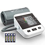 Blood Pressure Monitor for Home Use with Large LCD Display,Digital Upper Arm Automatic