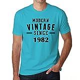 1982, Modern Vintage, geschenke für männer geburtstag, tshirt herren geburtstag, modern jahrgang tshirt herren, geschenk
