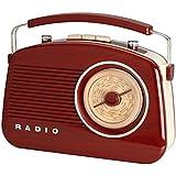Radio Enceinte rétro 60's Bluetooth Aspect bois Marron La chaise longue 37-1D-002