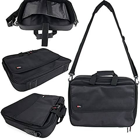 Sacoche noire avec bandoulière pour ordinateur Lenovo Ideapad 300 14
