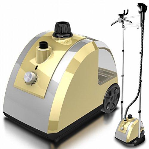 T Ironing Machine Ménagère à Double Tige à Vapeur,Or,41 * 31 * 32.5cm