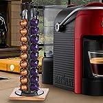 Bakaji-Stand-Porta-Capsule-Caff-40-Posti-Base-in-Legno-Rotante-Girevole-360-Inserimento-Verticale-In-Metallo