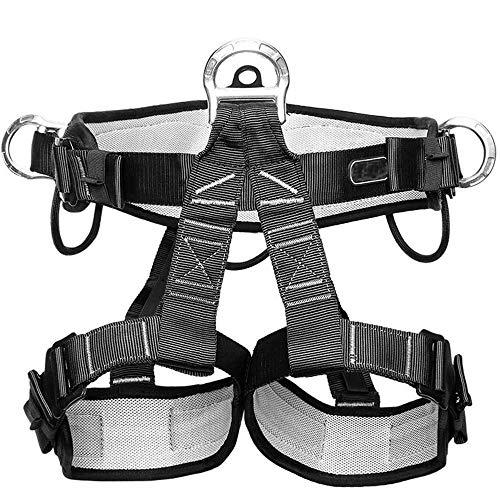 Jstyal968 Yalztc-zyq16 Professioneller Rettungssicherheitsgurt Spider-Man Outdoor-Klettergurt Halblange Taillengamaschen Sicherheitsschutzausrüstung