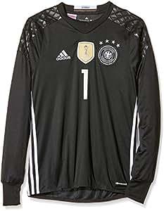 adidas Kinder Trikot DFB Goalkeeper Jersey Youth Neuer, black, 128, B74833