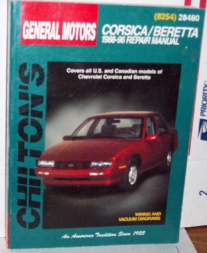 Toyota Corolla, Tercel and MR2 1984-90 Repair Manual (Chilton model specific automotive repair manuals)
