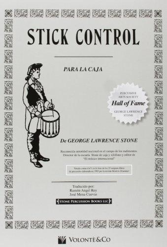 STICK CONTROL  SPANISH (Didattica musicali) por Stone Lawrence George