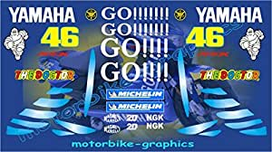 Scooter Yamaha Go Aerox replica scooter decals graphics stickers
