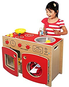 Inspirational Nurseries PT215 Wolds Complete Toddler Kitchen Juguete