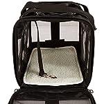 Amazon Basics Pet carrier bag, soft side panels 19