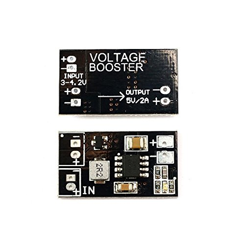 VIDOO Matek Dc-Dc Voltage Booster 1S Lipo to 5V Synchronous Step Up Converter