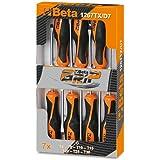 Beta 1267 TX/D7 Kraftform Comfort Torx - Lote de destornilladores Torx (7 unidades)