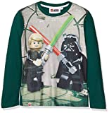 Lego Wear Lego Boy Star Wars CM-73146, Maglietta a Maniche Lunghe Bambino, Grigio (Dark Khaki 892), 134