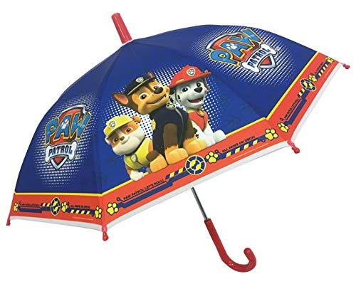 PAW PATROL Parapluie pour Enfant Pat' Patrouille 40 cm Bleu