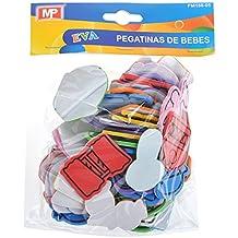 MP PM188-05 - Pegatinas adhesivas de goma Eva con formas