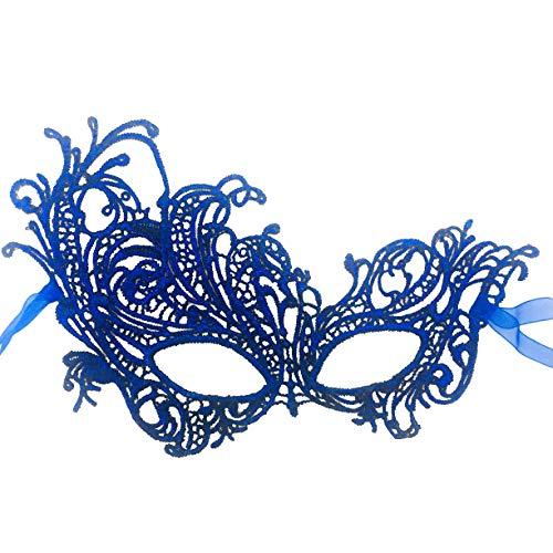 RXBC2011 Maske Maskerade-Partei Weihnachten Spaß Brille,Blue