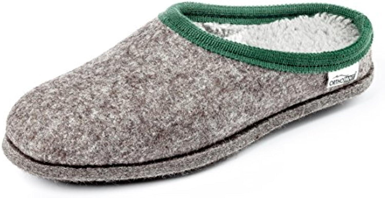 Orthopant Pantofole in Feltro Baita - Feltro e e e cottone per Una Sensazione Speciale di naturalezza e Comfort -... | Primo nella sua classe  16099b