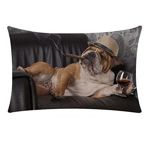 zug Niedliche Katze Hund Tier Muster, Kissenhülle Kopfkissenbezug Pillowcase Super Weich Sofakissen für Wohnzimmer Sofa Bed Home Dekoration,30x50cm (T) ()