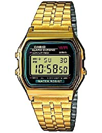 Casio Collection Herren-Armbanduhr Digital Edelstahl – A159WGEA-1EF