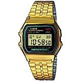 Casio Collection – Reloj Unisex Digital con Correa de Acero Inoxidable – A159WGEA-1EF