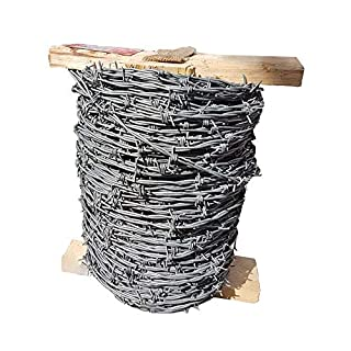 ArcelorMittal Barbed Wire GALVANISED 25KG 200 Meters