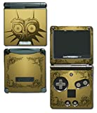 Legend of Zelda Majora's Mask Special Edition Gold Video Game Vinyl Decal Skin Sticker Cover for Nintendo GBA SP Gameboy Advance System by Vinyl Skin Designs