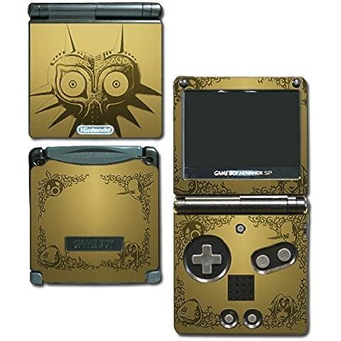 Legend of Zelda Majora's Mask Special Edition Gold Video Game Vinyl Decal Skin Sticker Cover for Nintendo GBA SP Gameboy Advance System by Vinyl Skin