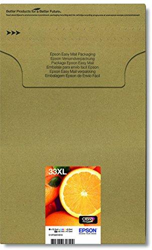 Preisvergleich Produktbild Epson Original T3357 Orange, Claria Premium Tinte XL, Text- und Hochglanzfotodruck ( Multipack 5-farbig) (CYMK + Photo-schwarz)