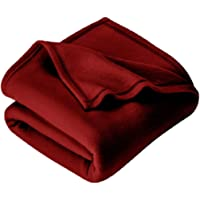 IVAZA New Glacial Microfiber All Season Polar Soft Warm Fleece Blanket for Home ( Double Bed 90x90 Inches Set of 1…