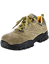 Cofra New Nilo S1 P SRC, Zapatos de Seguridad, Beige/Amarillo, 42