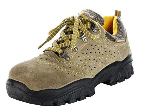 s1p src Zapatos Grises De Seguridad Para Nilo Los Cofra Beige Hombres wSx4IE5Iq
