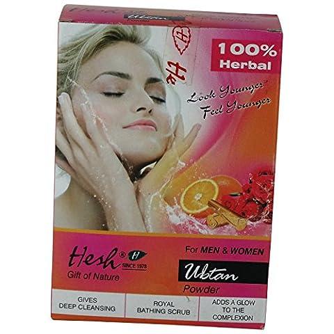HESH - Poudre Ubtan - substitut naturel de savon - nettoie naturellement la peau - rendre un bel éclat à votre