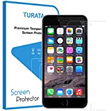 iPhone 7 Plus Schutzfolie - TURATA 0.3mm 9H Härte Hartglas Blasenfrei Design Displayschutzfolie Hightech High Definition 3D Touch Wasserdicht Staubdicht Screen Protector